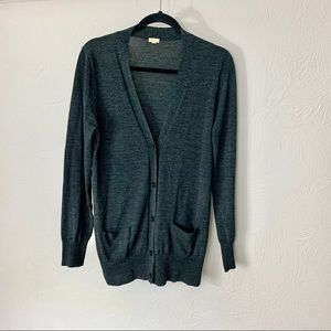 J.Crew merino wool cardigan sweater szL